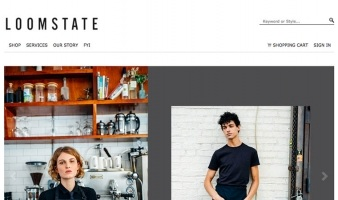 eCommerce website: Loomstate
