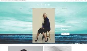 eCommerce website: SiiZU