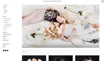 eCommerce website: Titania Inglis