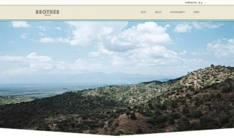 eCommerce website: Brother Vellies