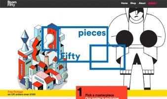eCommerce website: RoomFifty