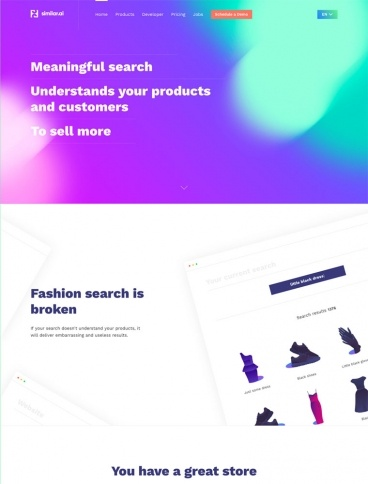 eCommerce website: Similar.ai