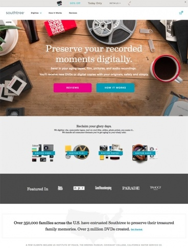 eCommerce website: Southtree