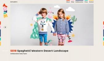 eCommerce website: The Totem Kids