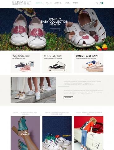 eCommerce website: Elisabet