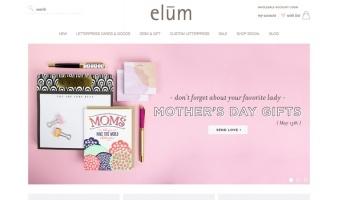 eCommerce website: Elum