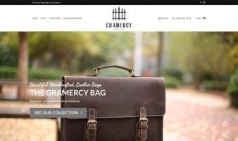 eCommerce website: Gramercy Supply
