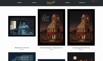 eCommerce website: Nicholas Moegly