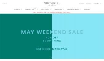 eCommerce website: Northskull