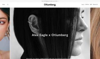 eCommerce website: Otiumberg