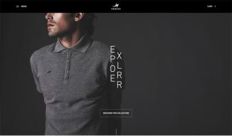 eCommerce website: Polo Fangio