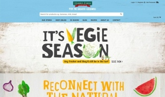 eCommerce website: Harris Farm Markets