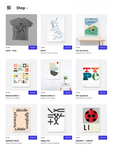 eCommerce website: Made by Folk