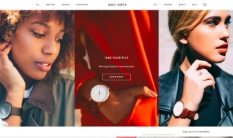eCommerce website: The 5TH