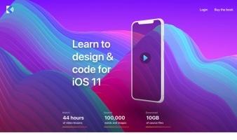 eCommerce website: Design+Code