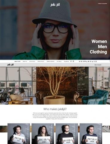 eCommerce website: Jak&Jil