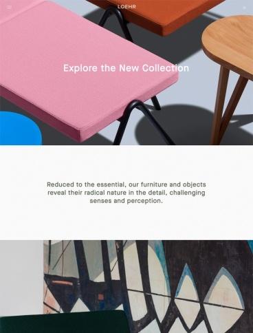 eCommerce website: Loehr
