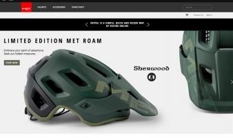 eCommerce website: MET HELMETS