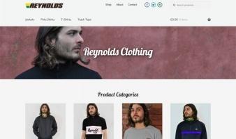eCommerce website: Reynolds