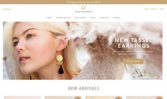 eCommerce website: Wild Wagon Co