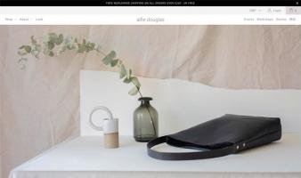 eCommerce website: Alfie Douglas