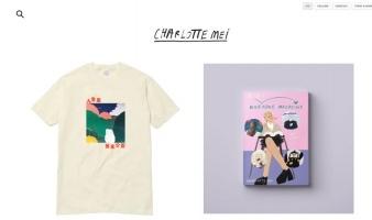 eCommerce website: Charlotte Mei