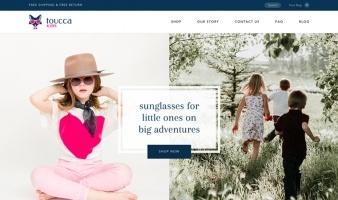 eCommerce website: toucca kids