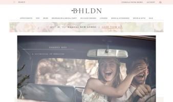 eCommerce website: BHLDN