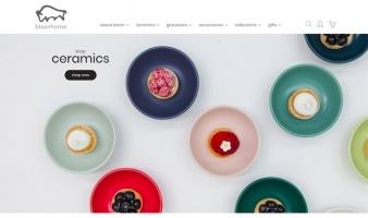 eCommerce website: Bisonhome