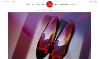 eCommerce website: Christian Louboutin