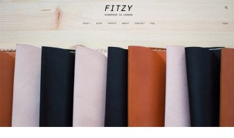 eCommerce website: Fitzy