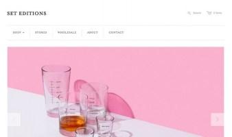 eCommerce website: Set Editions