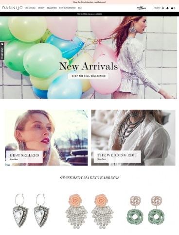 eCommerce website: Dannijo