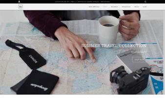 eCommerce website: Izola