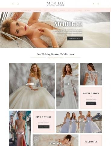 eCommerce website: Morilee