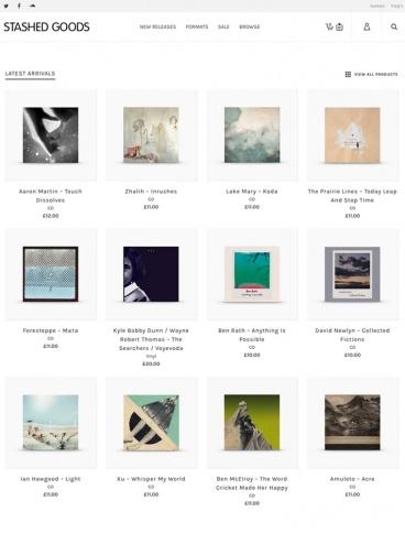 eCommerce website: Stashed Goods