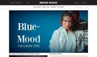 eCommerce website: Bruna Rosso