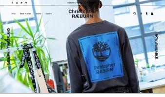 eCommerce website: Christopher Raeburn