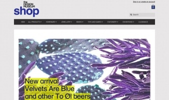 eCommerce website: Design Museum Shop