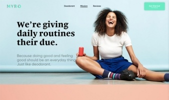 eCommerce website: Myro