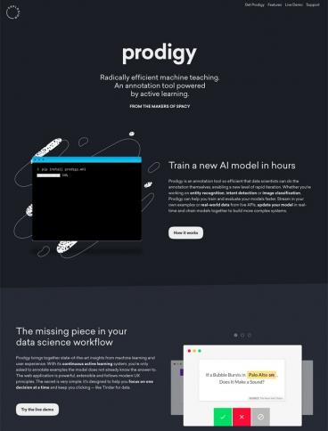 eCommerce website: Prodigy