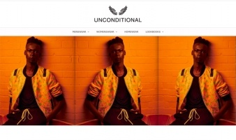 eCommerce website: UNCONDITIONAL