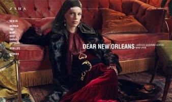 eCommerce website: Zara