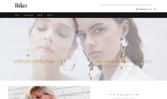 eCommerce website: Biko