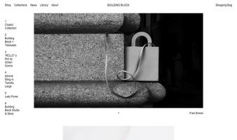 eCommerce website: Building Block