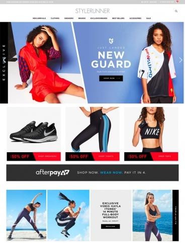 eCommerce website: Style Runner