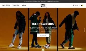 eCommerce website: SWEAR London