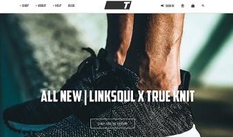 eCommerce website: TRUE linkswear