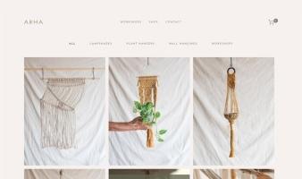 eCommerce website: Abha