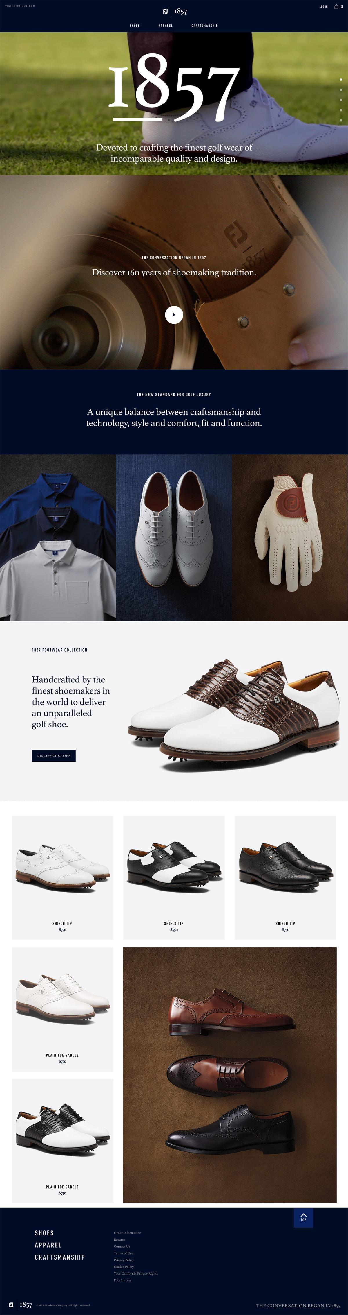 eCommerce website: FJ1857